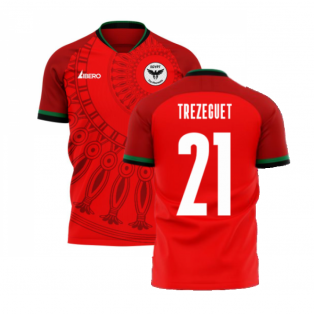 Egypt 2020-2021 Home Concept Football Kit (Libero) (TREZEGUET 21)