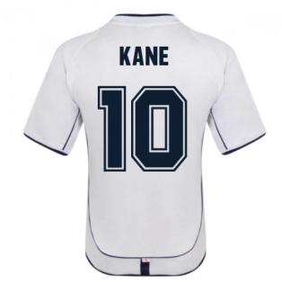 England 2002 Retro Football Shirt (KANE 10)