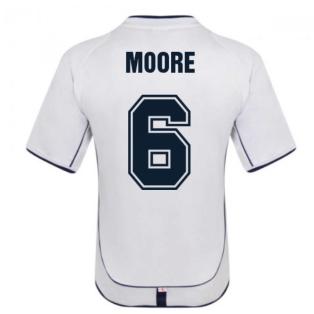 England 2002 Retro Football Shirt (MOORE 6)
