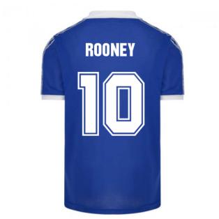 Everton 1980 Umbro Retro Football Shirt (ROONEY 10)
