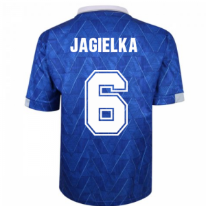Everton 1990 Home Retro Football Shirt (JAGIELKA 6)