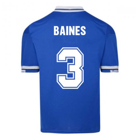 Everton 1994 Umbro Retro Football Shirt (BAINES 3)