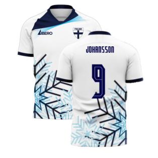 Finland 2020-2021 Home Concept Football Kit (Libero) (JOHANSSON 9)