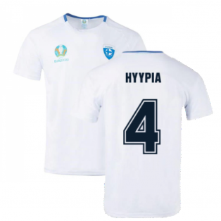 Finland 2021 Polyester T-Shirt (White) (HYYPIA 4)
