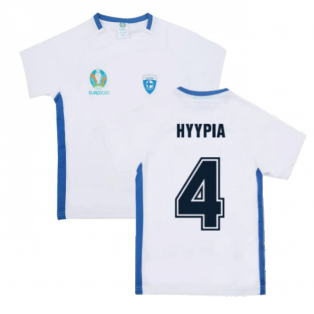 Finland 2021 Polyester T-Shirt (White) - Kids (HYYPIA 4)
