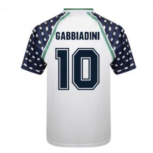 Score Draw Sunderland 1992 FA Cup Away Shirt (Gabbiadini 10)