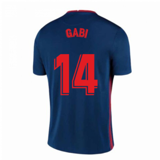 2020-2021 Atletico Madrid Away Nike Football Shirt (GABI 14)
