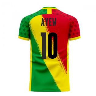 Ghana 2020-2021 Away Concept Football Kit (Libero) (AYEW 10)