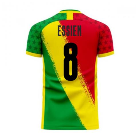 Ghana 2020-2021 Away Concept Football Kit (Libero) (ESSIEN 8)