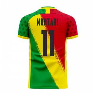 Ghana 2020-2021 Away Concept Football Kit (Libero) (MUNTARI 11)