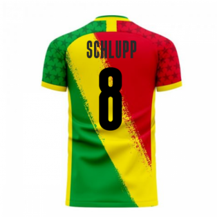 Ghana 2020-2021 Away Concept Football Kit (Libero) (SCHLUPP 8)