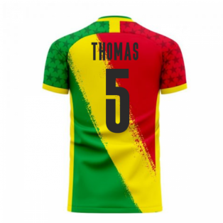 Ghana 2020-2021 Away Concept Football Kit (Libero) (THOMAS 5)