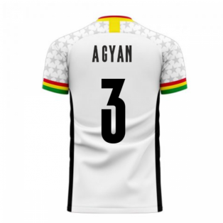 Ghana 2020-2021 Home Concept Football Kit (Libero) (A.GYAN 3)