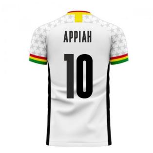 Ghana 2020-2021 Home Concept Football Kit (Libero) (APPIAH 10)