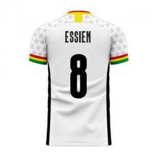 Ghana 2020-2021 Home Concept Football Kit (Libero) (ESSIEN 8)
