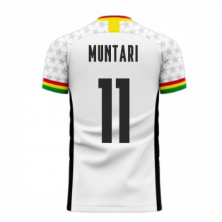 Ghana 2020-2021 Home Concept Football Kit (Libero) (MUNTARI 11)