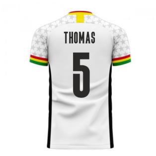 Ghana 2020-2021 Home Concept Football Kit (Libero) (THOMAS 5)