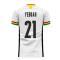 Ghana 2020-2021 Home Concept Football Kit (Libero) (YEBOAH 21)