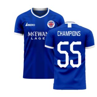 Glasgow 2020-2021 Home Concept Football Kit (Libero) (Champions 55)