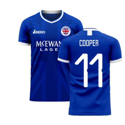 Glasgow 2020-2021 Home Concept Football Kit (Libero) (COOPER 11)