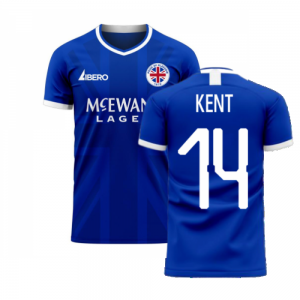 Glasgow 2020-2021 Home Concept Football Kit (Libero) (KENT 14)