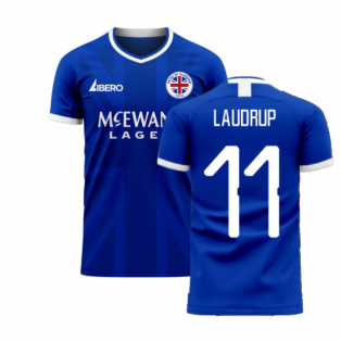 Glasgow 2020-2021 Home Concept Football Kit (Libero) (LAUDRUP 11)