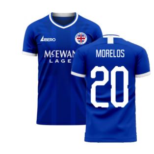 Glasgow 2020-2021 Home Concept Football Kit (Libero) (MORELOS 20)