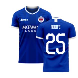 Glasgow 2020-2021 Home Concept Football Kit (Libero) (ROOFE 25)