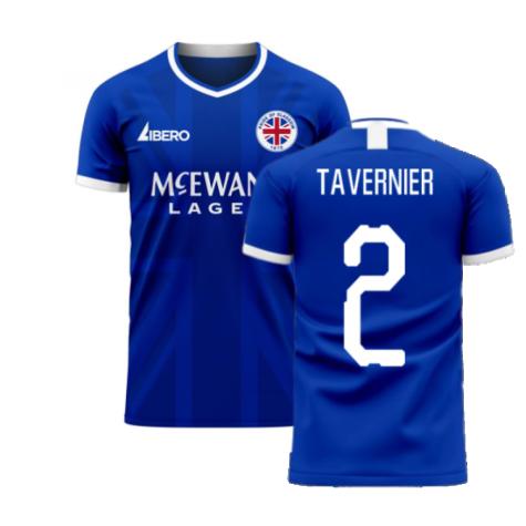 Glasgow 2020-2021 Home Concept Football Kit (Libero) (TAVERNIER 2)