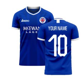 Glasgow 2020-2021 Home Concept Football Kit (Libero) (Your Name)