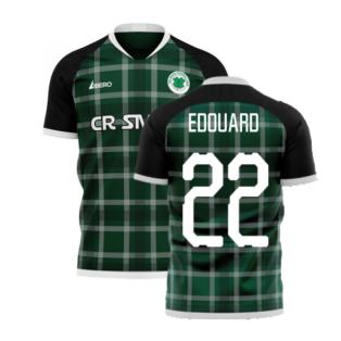 Glasgow Greens 2020-2021 Away Concept Shirt (Libero) (EDOUARD 22)