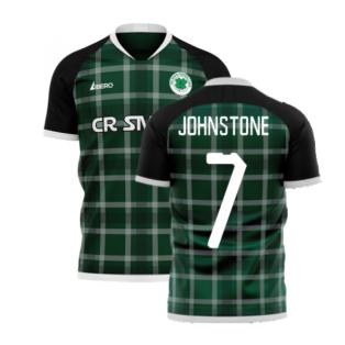 Glasgow Greens 2020-2021 Away Concept Shirt (Libero) (JOHNSTONE 7)