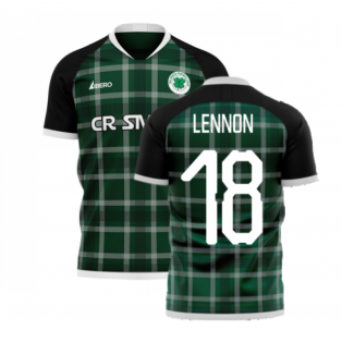 Glasgow Greens 2020-2021 Away Concept Shirt (Libero) (LENNON 18)