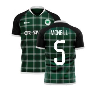 Glasgow Greens 2020-2021 Away Concept Shirt (Libero) (MCNEILL 5)