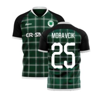 Glasgow Greens 2020-2021 Away Concept Shirt (Libero) (MORAVCIK 25)
