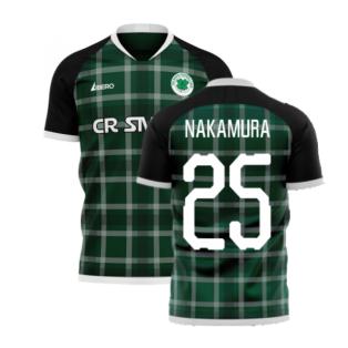 Glasgow Greens 2020-2021 Away Concept Shirt (Libero) (NAKAMURA 25)