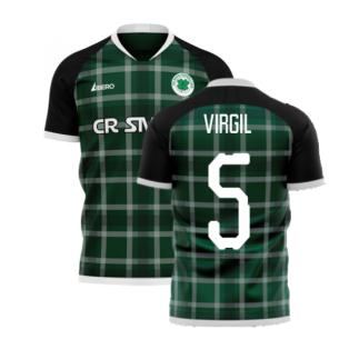 Glasgow Greens 2020-2021 Away Concept Shirt (Libero) (VIRGIL 5)
