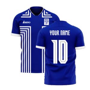 Greece 2020-2021 Away Concept Football Kit (Libero)