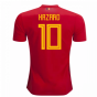 2018-2019 Belgium Adidas Home Shirt (Hazard 10)