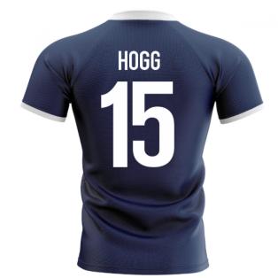 2020-2021 Scotland Flag Concept Rugby Shirt (Hogg 15)