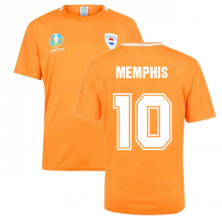Holland 2021 Polyester T-Shirt (Orange) - Kids (Memphis 10)