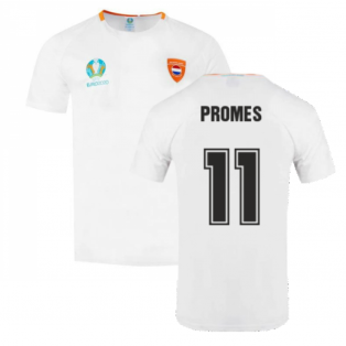 Holland 2021 Polyester T-Shirt (White) (PROMES 11)