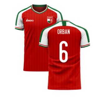 Hungary 2020-2021 Home Concept Football Kit (Libero) (ORBAN 6)