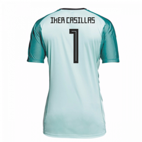 2018-19 Spain Home Goalkeeper Shirt (Iker Casillas 1)
