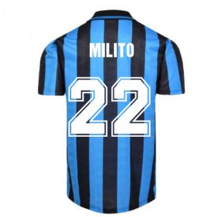 Internazionale 1992 Home Shirt (MILITO 22)