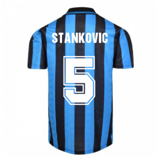 Internazionale 1992 Home Shirt (STANKOVIC 5)