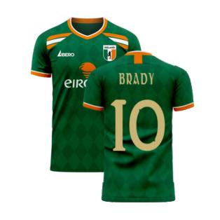 Ireland 2020-2021 Classic Concept Football Kit (Libero) (BRADY 10)