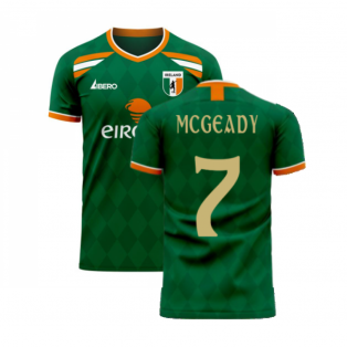 Ireland 2020-2021 Classic Concept Football Kit (Libero) (MCGEADY 7)