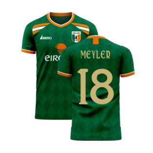 Ireland 2020-2021 Classic Concept Football Kit (Libero) (MEYLER 18)