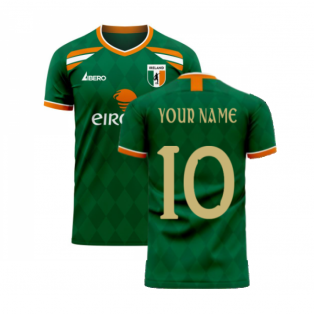 Ireland 2020-2021 Classic Concept Football Kit (Libero) (Your Name)